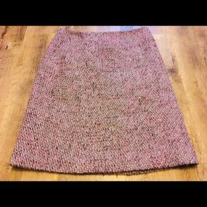 🌙 Loft Wool Blend Pencil Skirt Purple Eggplant
